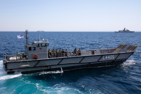 LHD Landing Craft designed and built by Navantia